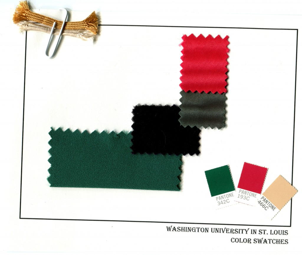Commencement color swatches