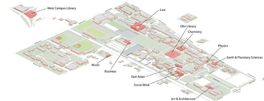 Danforth Campus Libraries Maps & Directions | Washington