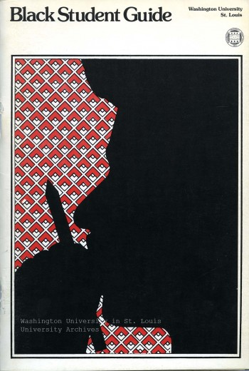 Cover, Black Student Guide, 1973. University Archives.