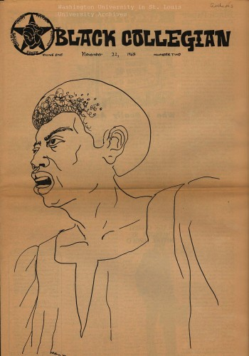 Publication, _Black Collegian_ November 22, 1968. University Archives.