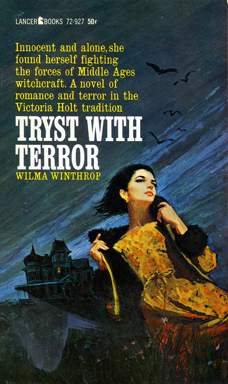 Romance Book Cover Fonts : An eerie sense of deja vu s gothic romance paperback