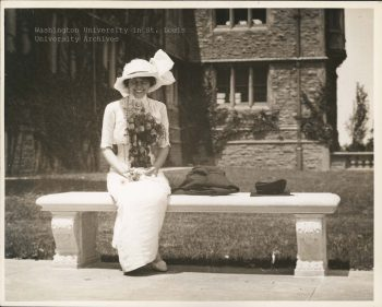 Erma's Graduation from Washington University, 1910
