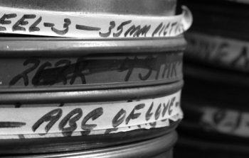 Film reels from the Harry Wald Collection