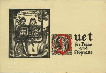 Proetz Holiday card, 1924