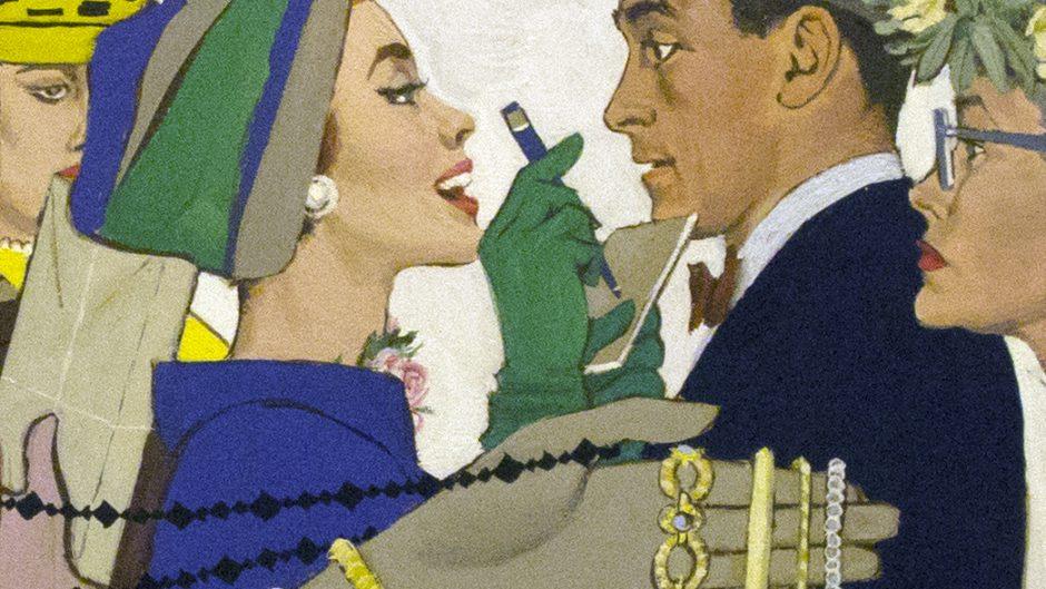"Illustration by Al Parker for ""Expression of Love"""