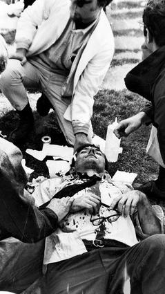 injured protestor_chicago tribune