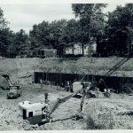 Olin Library Construction, 1960