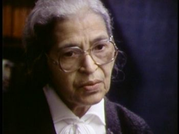 """Rosa Parks in """"Eyes on the Prize"""""""