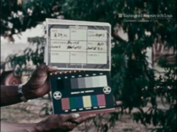 Production slate from a Blackside interview, 1979