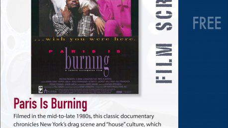 Paris is Burning flyer