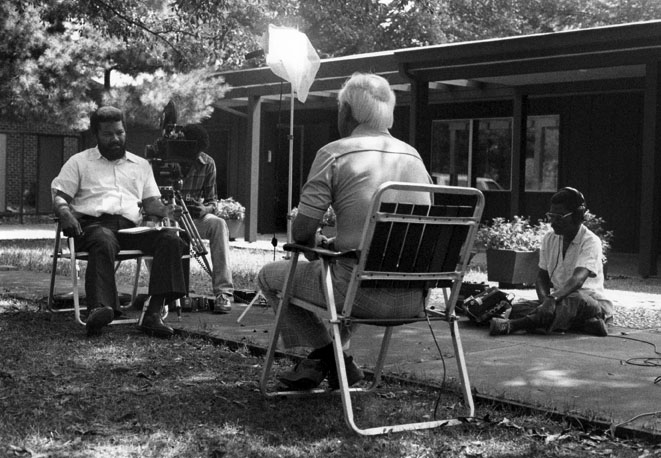 Henry Hampton interviewing William B. Huie, 1979