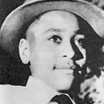 Emmett Till in a photograph taken by his mother on Christmas Day 1954, about eight months before his murder.