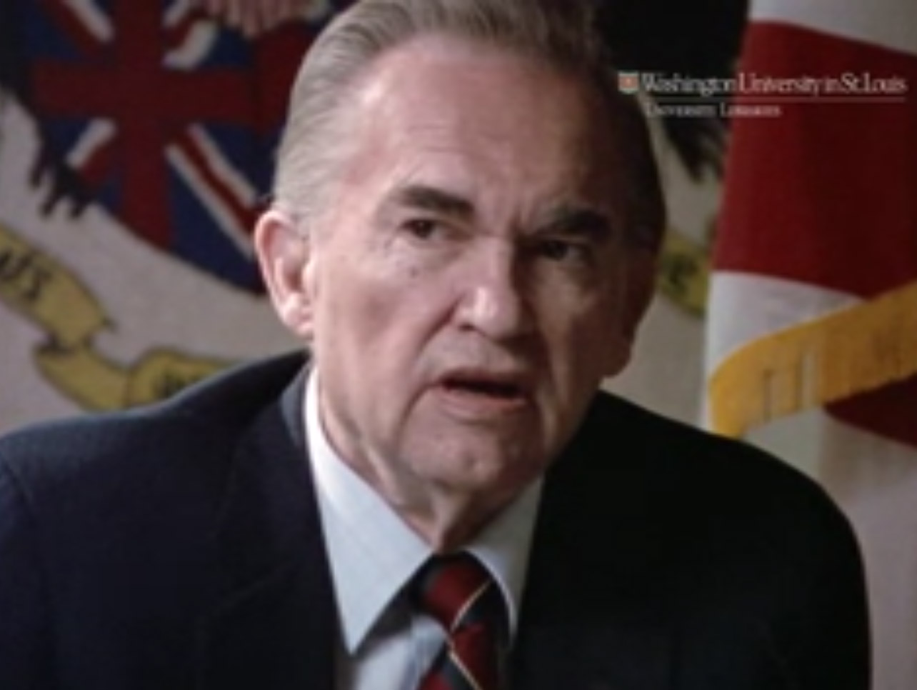 Still from Interview with George Wallace, 1979