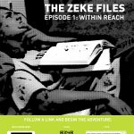 "A poster of Episode 1 of ""The Zeke Files"""