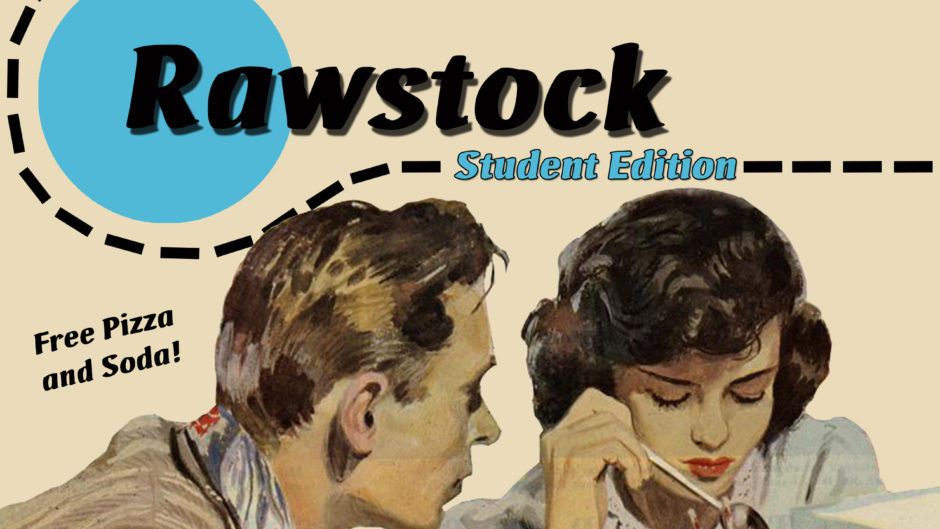 Rawstock flyer
