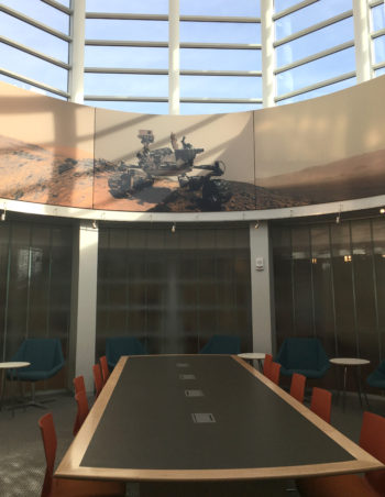 The Sky Room on Level 3 of Olin Library