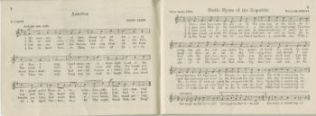 Pages of sheet music.