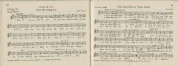 More pages of sheet music.