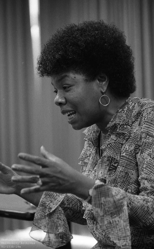 Maya Angelou cartoon