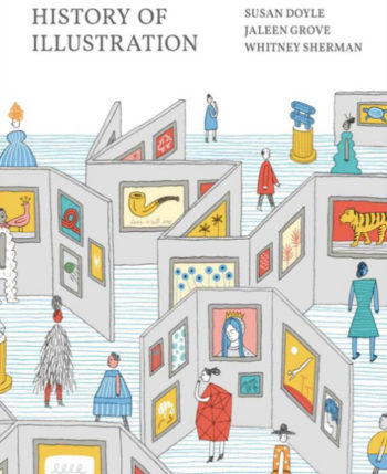"""Book cover of """"History of Illustration"""""""