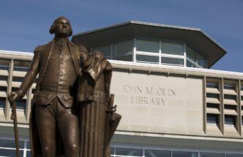 South entrance of John M. Olin Library