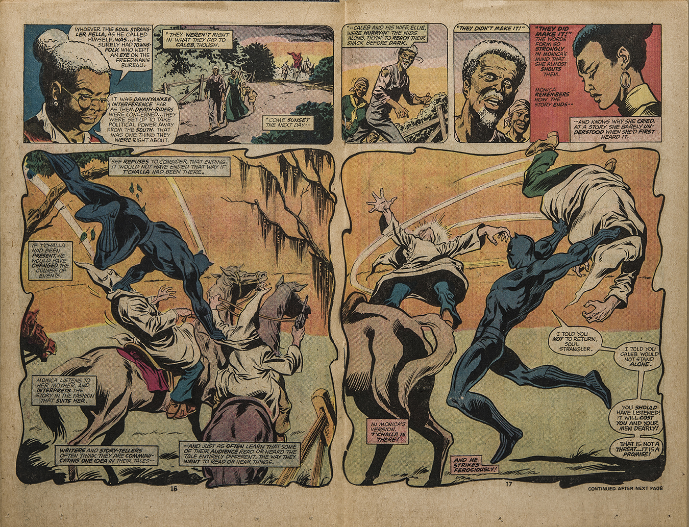 The Black Panther A Comic Book History Washington University In