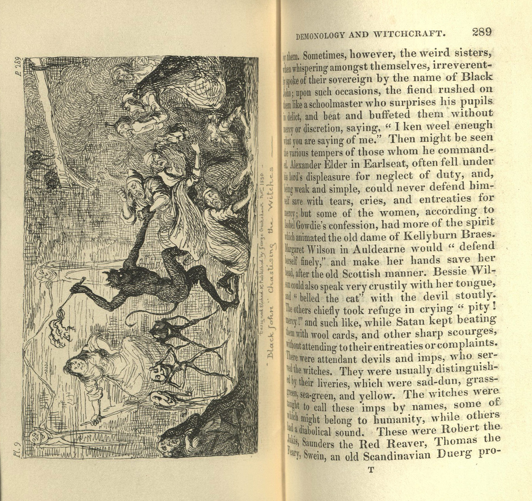 Rare Books on Ghosts and Witches | Washington University in
