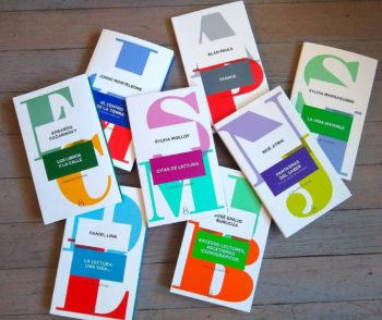 book covers from Ediciones Ampersand de Argentina