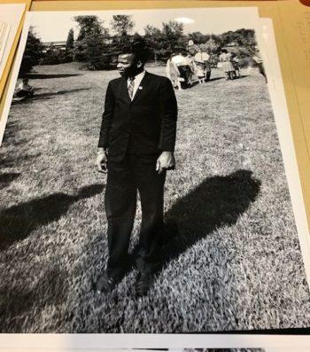 John Lewis standing
