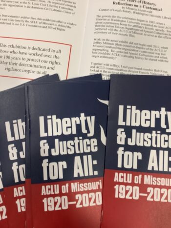 several booklets in a stack