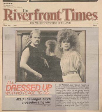 cover of Riverfront Times newspaper