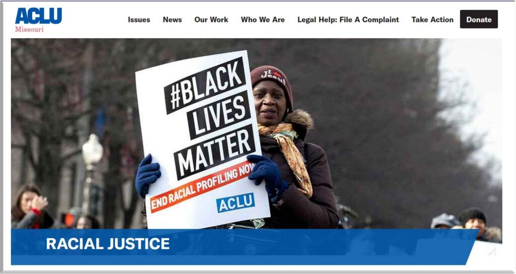 "woman holding sign ""#Black Lives Matter"""