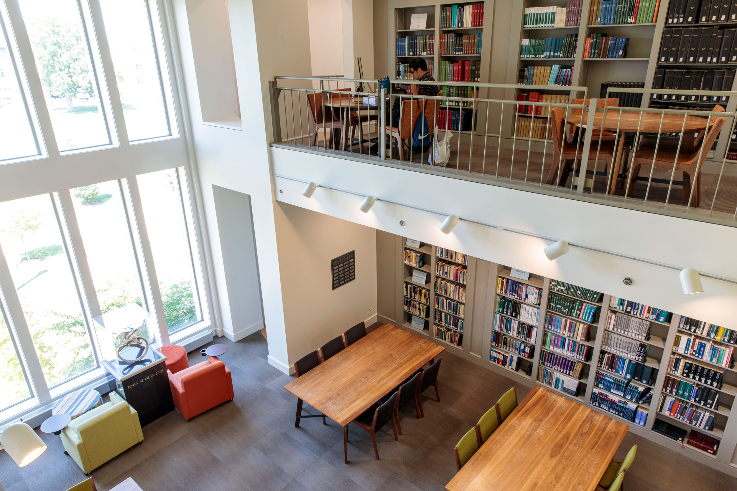 Kopolow Business Library interior
