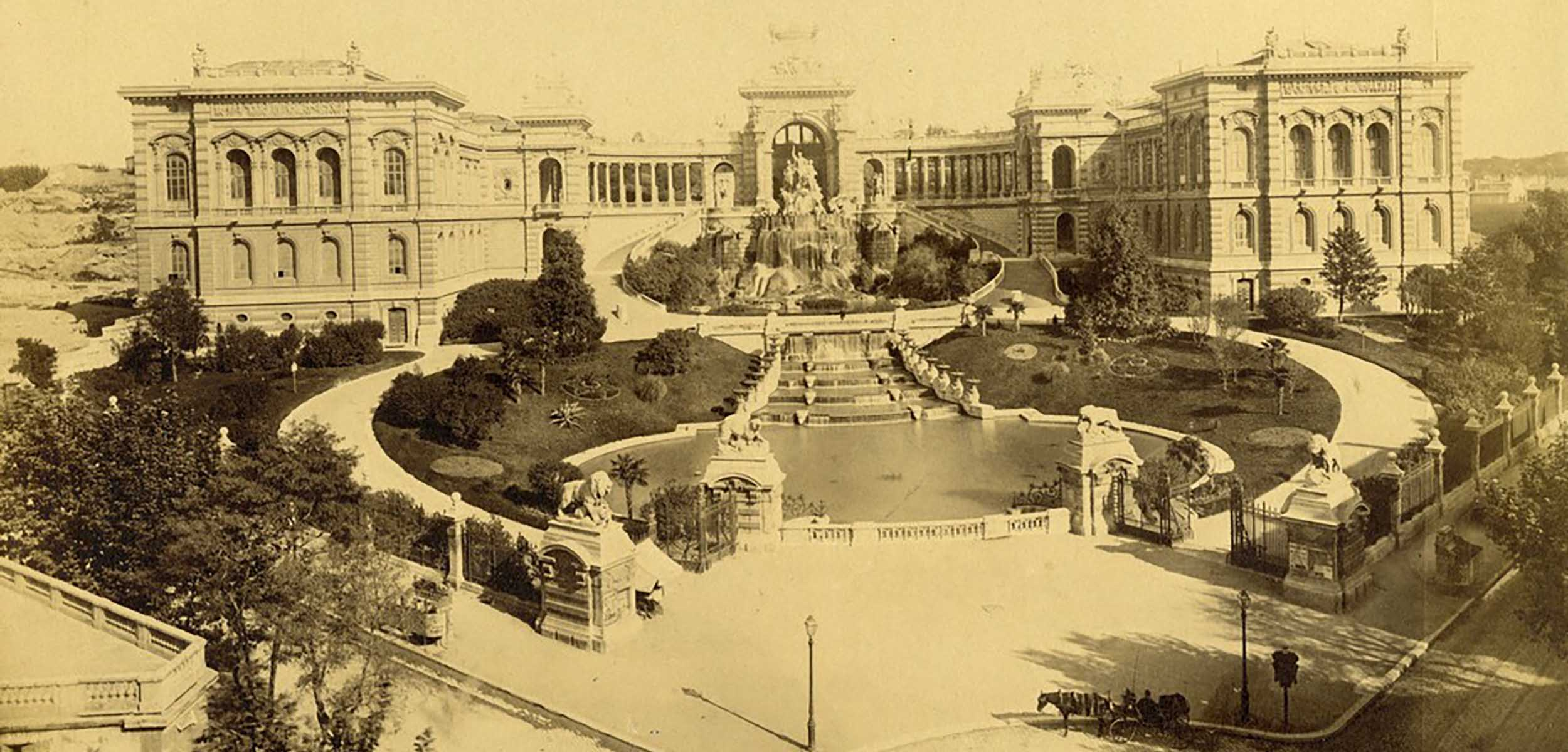 A photo of Merseilles, Musee des Beaux-Arts, found within the 19th Century Photography Collection.