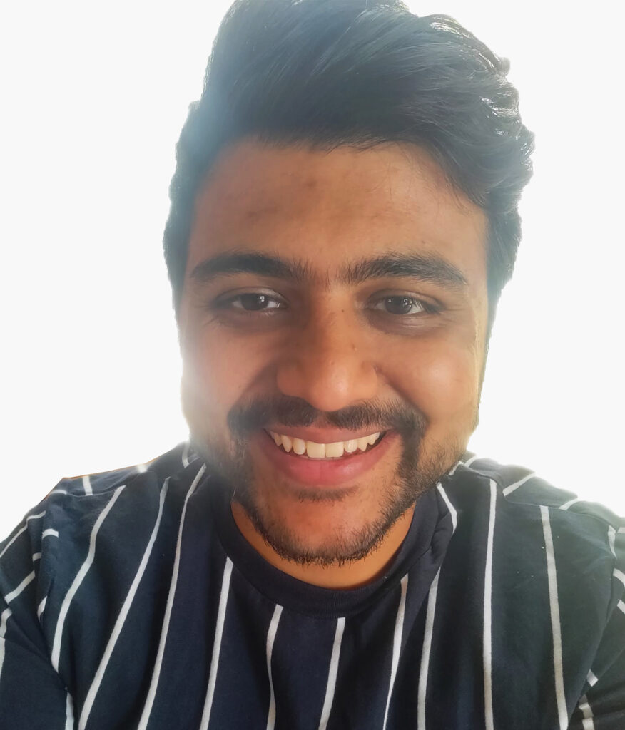 Mendel Sato Research Award 2021 winner Huzefa Jawadwala. Jawadwala graduated with their Masters in Architecture and Construction Management from Washington University in St. Louis in 2021.