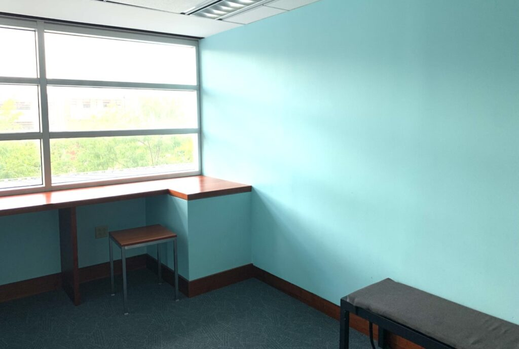 The Serenity Room in the John M. Olin Library.