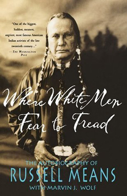 Cover of Russell Means' Where White Men Fear to Tread.