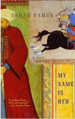 Cover for Orhan Pamuk's My Name is Red.