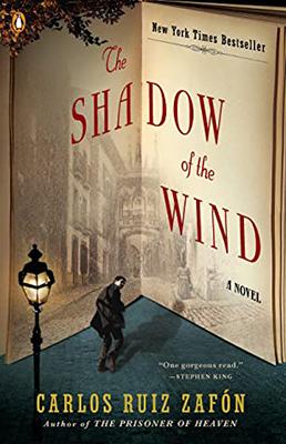 Cover of Carlos Ruiz Zafon's The Shadow of the Wind.